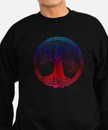 Sunset Celtic Tree Sweatshirt (dark)