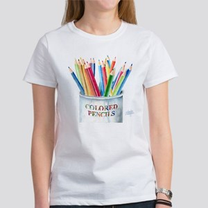 My Colored Pencils Women's T-Shirt