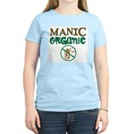 Manic Organic Women's Pink T-Shirt