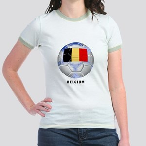 Belgium soccer Jr. Ringer T-Shirt
