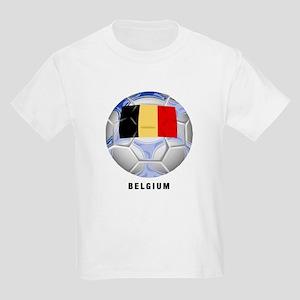 Belgium soccer Kids T-Shirt