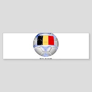 Belgium soccer Bumper Sticker
