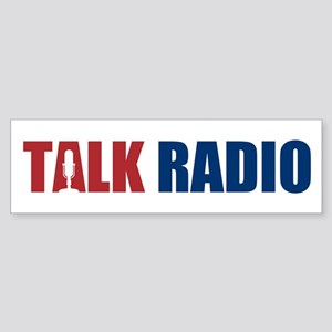 Talk Radio Sticker (Bumper)