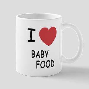 I heart baby food Mug
