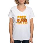 Free Hugs Women's V-Neck T-Shirt