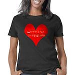 3-Love My Firefighter tran Women's Classic T-Shirt
