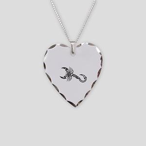 Tatoo Necklace Heart Charm