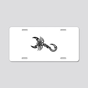 Tatoo Aluminum License Plate