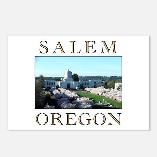 Cute Salem Postcards (Package of 8)