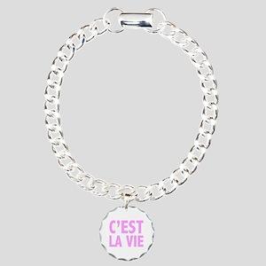 C'est La Vie Charm Bracelet, One Charm