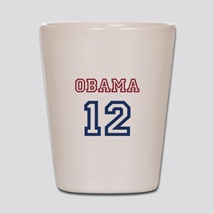 Obama 2012 Shot Glass