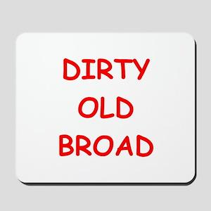 Old farts jokes Mousepad