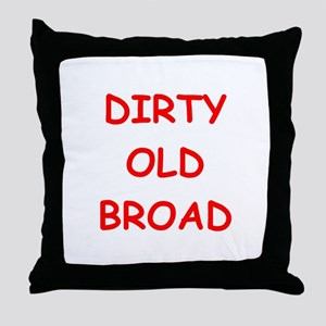 Old farts jokes Throw Pillow
