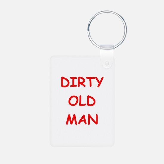 Old farts jokes Keychains
