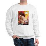 Zowie Face (Indie Comics Magazine) Sweatshirt