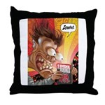 Zowie Face (Indie Comics Magazine) Throw Pillow