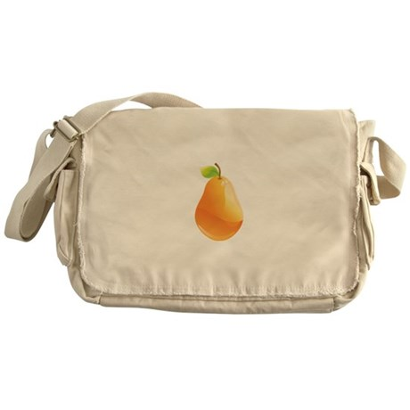 Pear Messenger Bag