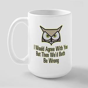 Wise Owl Large Mug