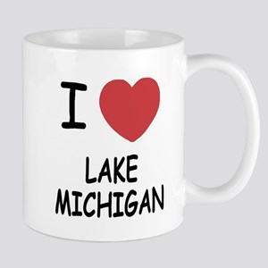 I heart lake michigan Mug