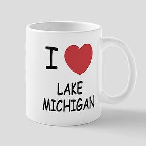 I heart lake michigan Mug