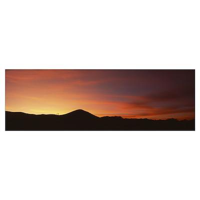 Sunrise San Rafael Valley Southern AZ Poster