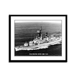 USS FRANK KNOX Framed Panel Print