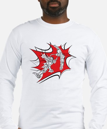 Fencing Blast Long Sleeve T-Shirt