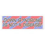 blue/pink DS is not a disease bumper sticker