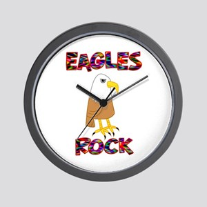 Eagles Rock Wall Clock
