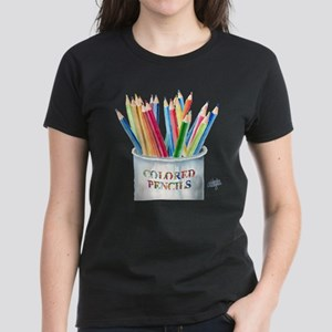 My Colored Pencils Women's Dark T-Shirt