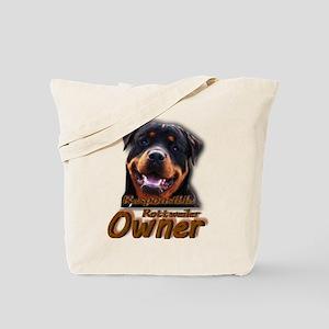 Responsible Rott Owner Tote Bag