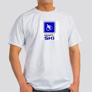 Adaptive Alpine Skiing Light T-Shirt
