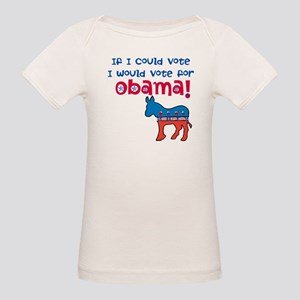 if I Could Vote Organic Baby T-Shirt