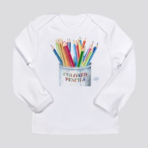 My Colored Pencils Long Sleeve Infant T-Shirt