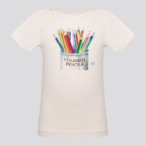 My Colored Pencils Organic Baby T-Shirt
