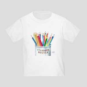 My Colored Pencils Toddler T-Shirt