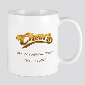 Cheers Norm Quote Mug