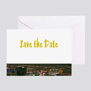 Save the Date Las Vegas Cards (Pk of 10)