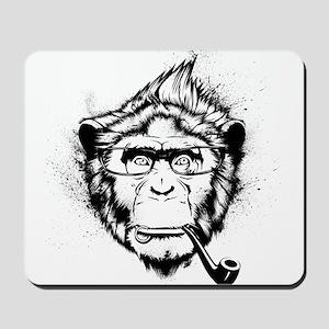 Ironic Chimp Mousepad