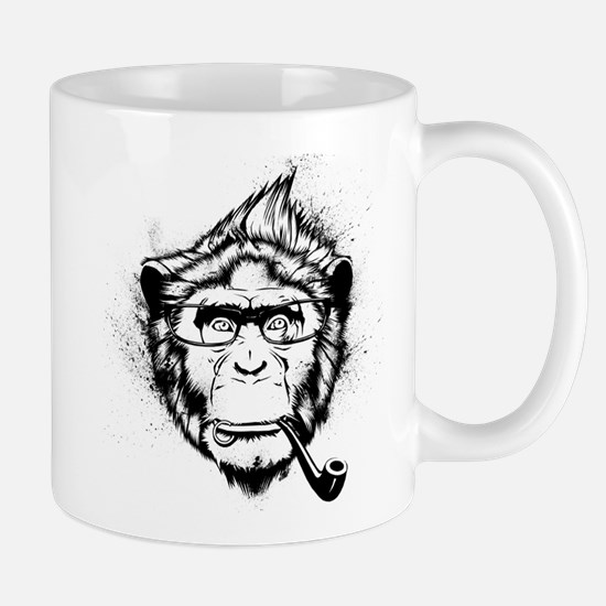 Ironic Chimp Mug