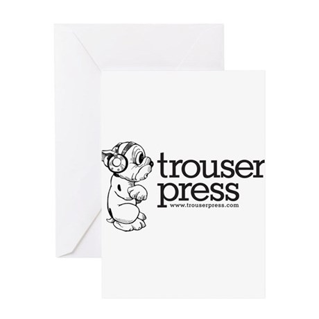 Trouser Press Greeting Card