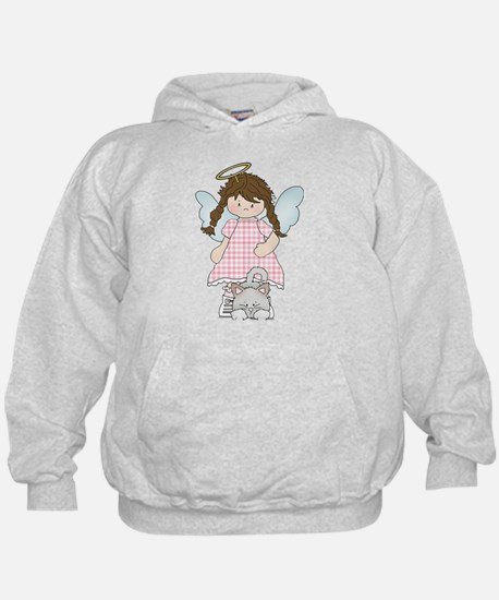 Angel Abby and Fluffy Hoodie