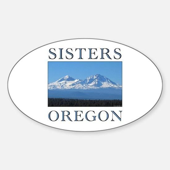 Funny Eugene Sticker (Oval)