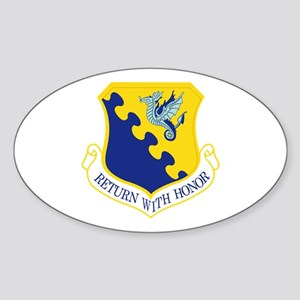 31st Fighter Wing Sticker (Oval)