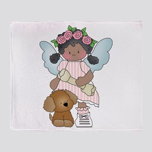 Angel Anna and Barkerly Throw Blanket
