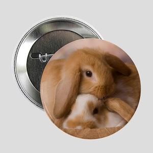 """Cuddle Bunnies 2.25"""" Button"""