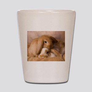 Cuddle Bunnies Shot Glass