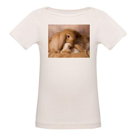 Cuddle Bunnies Organic Baby T-Shirt