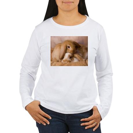 Cuddle Bunnies Women's Long Sleeve T-Shirt