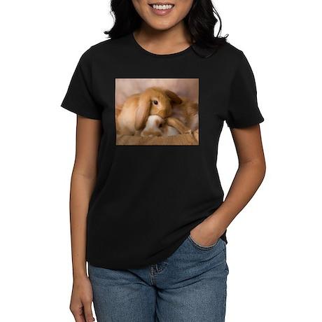 Cuddle Bunnies Women's Dark T-Shirt